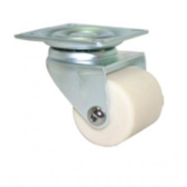 Fallshaw NNN Series White Nylon Swivel Castor 40mm 90kg NNN40/NZP