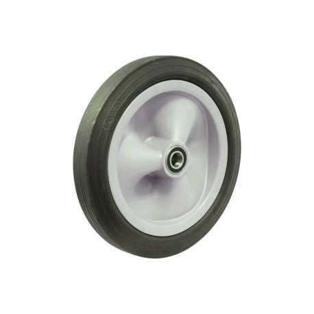 Fallshaw R250 Series Black Rubber Utility Wheel R250/50C-PRYQ20
