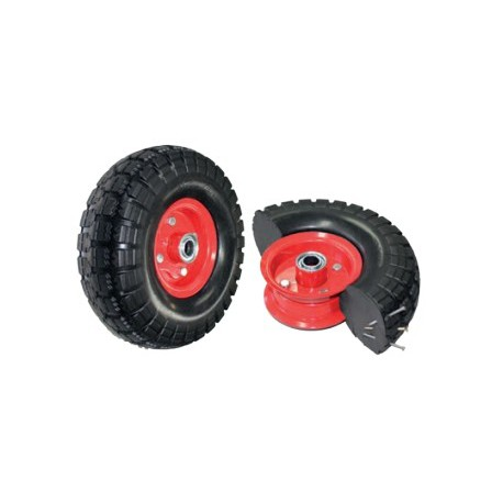 Puncture Proof Semi Pneumatic Flat Free Wheel 265mm 100kg PP350X4-SB34