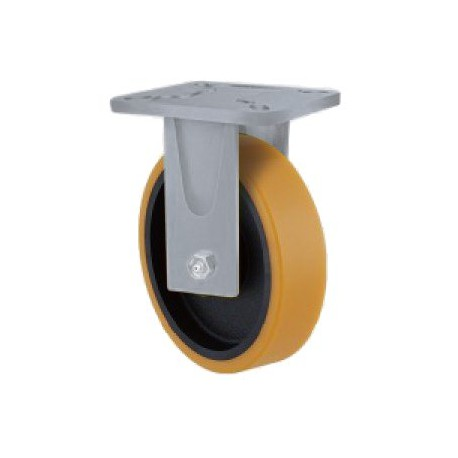 Super Heavy Duty Castor Urethane Fixed 160mm 600kg TE51UIB160R