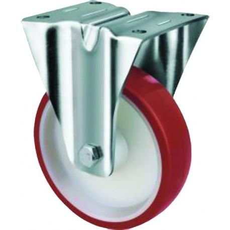 Medium Duty Industrial Urethane Castor Rigid 100mm 150kg TE21UNR100R