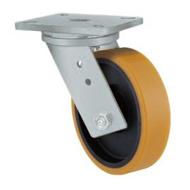 Super Heavy Duty Castor Swivel Urethane 125mm 550kg TE51UIB125S